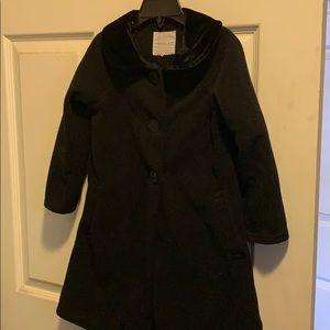 Black little girls coat